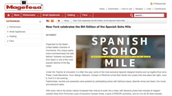 New York celebrates the 8th Edition of the Spanish Soho Mile