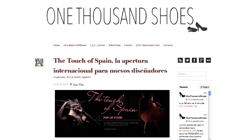 The Touch of Spain, la apertura internacional para nuevos diseñadores