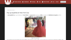 Pop up española en New York City!